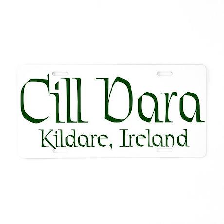County Kildare (Gaelic) Aluminum License Plate