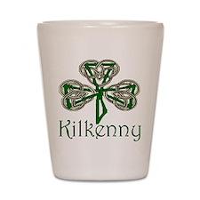 Kilkenny Shamrock Shot Glass