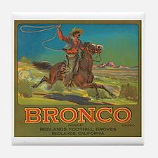 Bronco Tile Coaster
