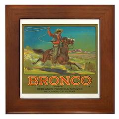 Bronco Framed Tile