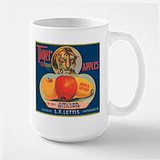 Tiger Apples Large Mug