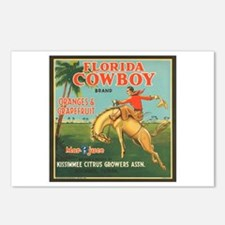 Florida Cowboy Postcards (Package of 8)