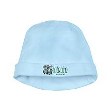 Leitrim Dragon (Gaelic) baby hat
