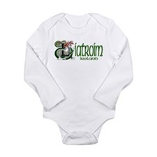 Leitrim Dragon (Gaelic) Long Sleeve Infant Bodysui