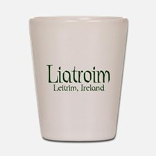County Leitrim (Gaelic) Shot Glass
