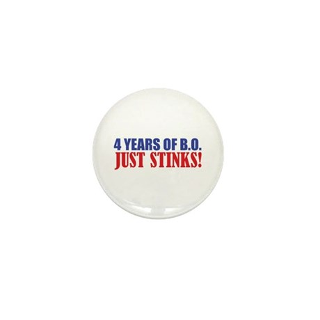 Obama Stinks Mini Button
