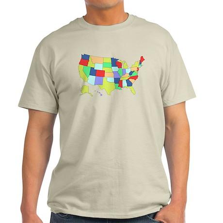 Unites States map t-shirt