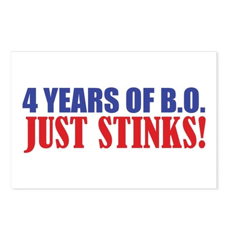Obama Stinks Postcards (Package of 8)