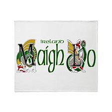Mayo Dragon (Gaelic) Throw Blanket