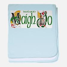 Mayo Dragon (Gaelic) baby blanket