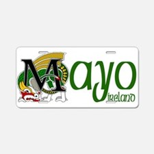 County Mayo Aluminum License Plate