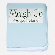 County Mayo (Gaelic) baby blanket