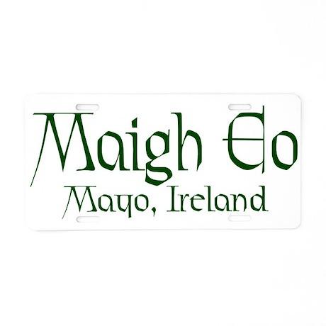 County Mayo (Gaelic) Aluminum License Plate