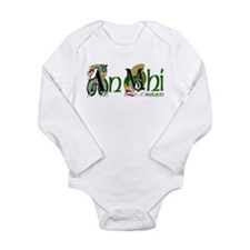 Meath Dragon (Gaelic) Long Sleeve Infant Bodysuit
