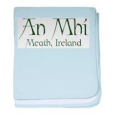County Meath (Gaelic) baby blanket