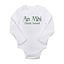 County Meath (Gaelic) Long Sleeve Infant Bodysuit