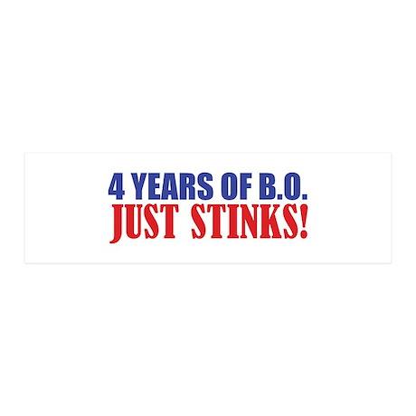 Obama Stinks 42x14 Wall Peel