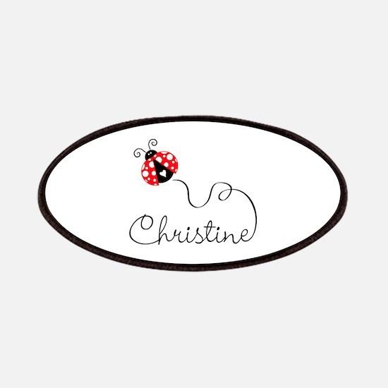 Ladybug Christine Patches