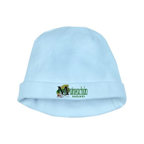 Monaghan Dragon (Gaelic) baby hat