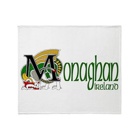 County Monaghan Throw Blanket