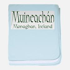 County Monaghan (Gaelic) baby blanket