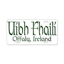 County Offaly (Gaelic) Aluminum License Plate