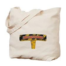 Pull Out To Eject Tote Bag