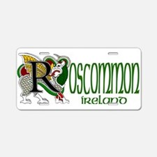 County Roscommon Aluminum License Plate