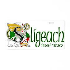 Sligo Dragon (Gaelic) Aluminum License Plate