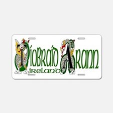 Tipperary Dragon (Gaelic) Aluminum License Plate
