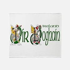 Tyrone Dragon (Gaelic) Throw Blanket