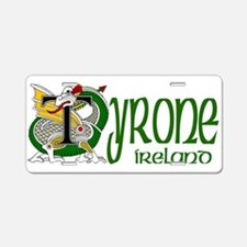 County Tyrone Aluminum License Plate
