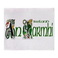 Westmeath Dragon (Gaelic) Throw Blanket