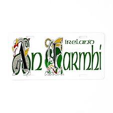 Westmeath Dragon (Gaelic) Aluminum License Plate