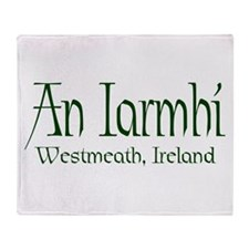 Westmeath (Gaelic) Throw Blanket