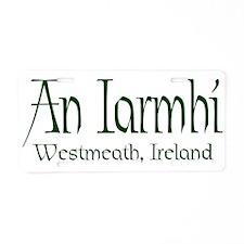 Westmeath (Gaelic) Aluminum License Plate