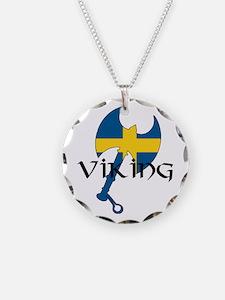 Swedish Viking Axe Necklace