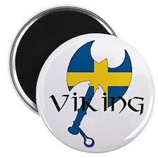 Swedish Viking Axe Magnet
