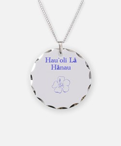 Hawaiian Happy Birthday Necklace