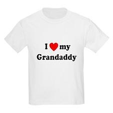 I Love My Grandaddy T-Shirt