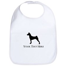 Basenji - Your Text! Bib