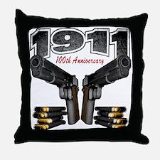 1911 100th Anniversary Throw Pillow