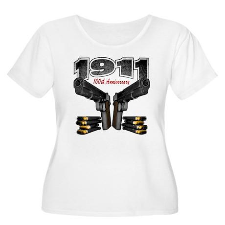 1911 100th Anniversary Women's Plus Size Scoop Nec