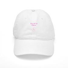 Hawaiian Birthday Pink Baseball Cap