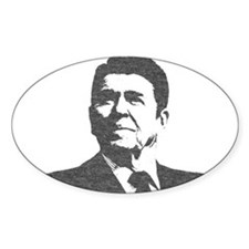 Ron Reagan Icon Decal