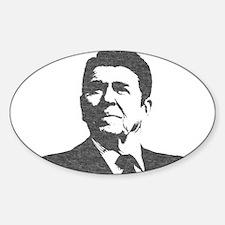 Ron Reagan Icon Sticker (Oval)