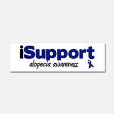iSupport Alopecia Car Magnet 10 x 3