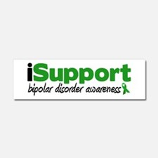 iSupport Bipolar Disorder Car Magnet 10 x 3