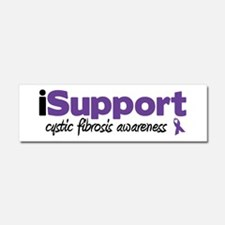 iSupport Cystic Fibrosis Car Magnet 10 x 3