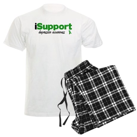 iSupport Depression Men's Light Pajamas